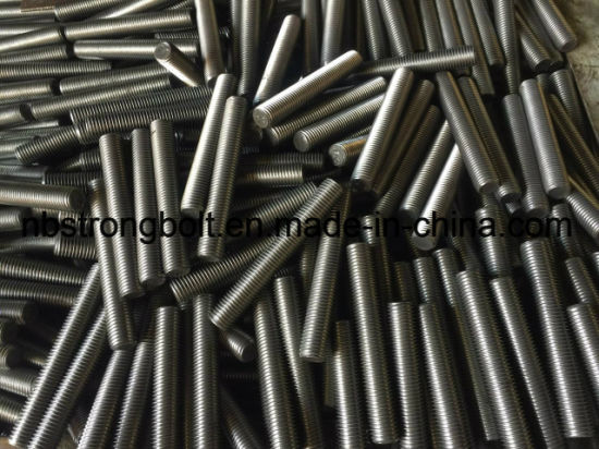 Parafuso prisioneiro ASTM A320 Gr. L7 / L7m / China parafuso prisioneiro fábrica, China Thread Rod manufactureR